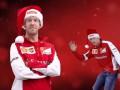 Команда Ferrari специальным видео поздравила фанатов с новогодними праздниками
