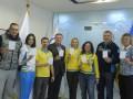Украинские олимпийцы показали белую карточку мира (ФОТО)