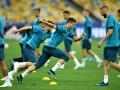Игроки Реала начали тренировку на НСК Олимпийский лишь с появлением Роналду