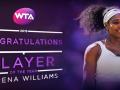 Удар польской теннисистки – самый эффектный за год, Уильямс – игрок года