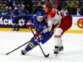 Дания уступила Швеции в матче ЧМ по хоккею