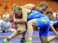 Украинка Черкасова - чемпионка мира по борьбе