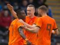 Нидерланды прервали серию неудач в матче с Беларусью