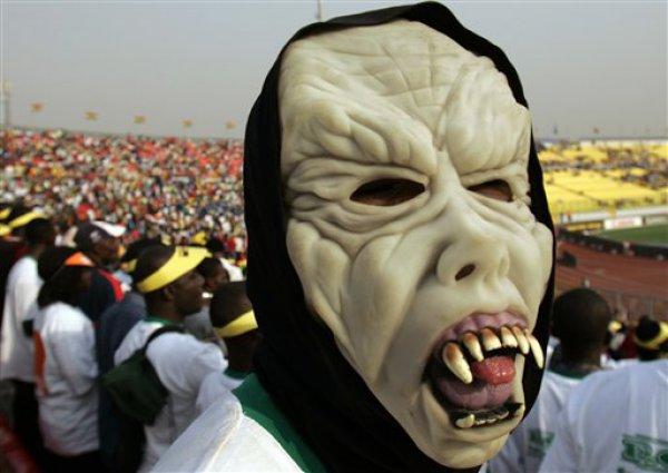 Кубок Африки - необычное, но увлекательное зрелище