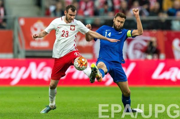 Польша громит Финляндию со счетом 5:0