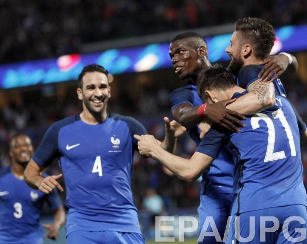 Франция обыграла Шотландию