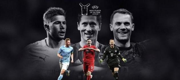Стали известны претенденты на звание игрока года по версии УЕФА