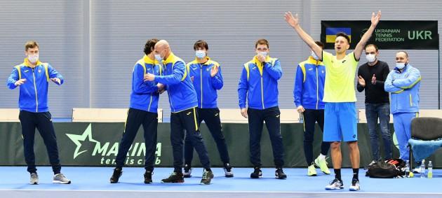 Сборная Украины обыграла Израиль в матче Кубка Дэвиса
