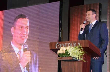 Виталий Кличко  получил награду WBC