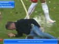Тренер Лейпцига получил травму, празднуя выход в Бундеслигу