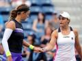 Азаренко и Барти - первые финалисты парного US Open