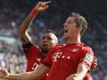Бавария, пропустив на 8 секунде матча, сумела обыграть Хоффенхайм