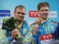 Украинцы Горшковозов и Долгов выиграли бронзу на этапе Мировой серии по прыжкам в воду