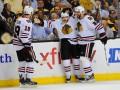 NHL. Бостон - Чикаго: 11 шайб, овертайм и победа Ястребов
