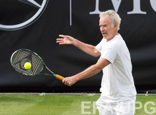 Легенда американского тенниса Джон Макинрой