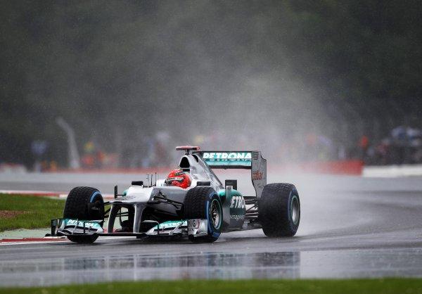Шумахер рассчитывал на дождь и прогадал