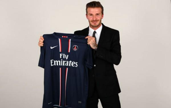 Самый модный футболист современности Бэкхем будет играть в Париже