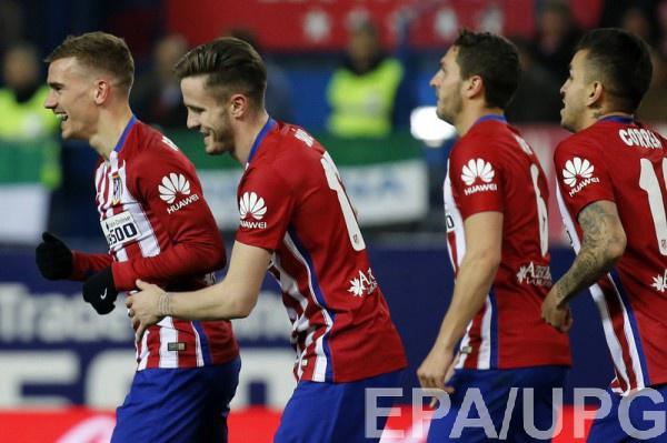 Атлетико вышло в 1/4 финала Лиги чемпионов