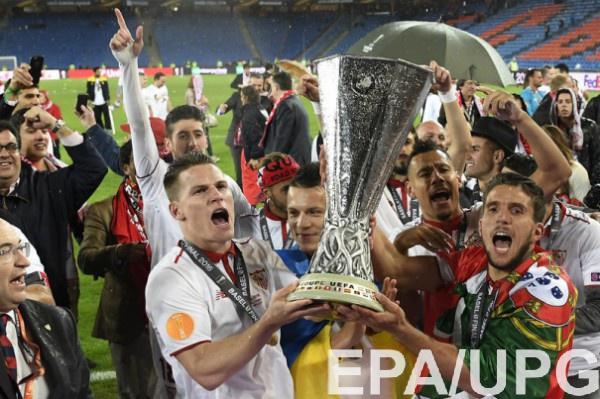 Севилья - самый титулованый клуб в истории Кубка УЕФА/Лиги Европы