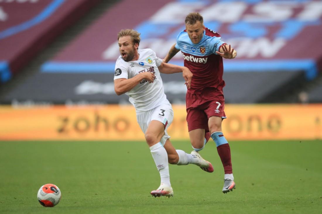 Андрей Ярмоленко в матче против Бернли