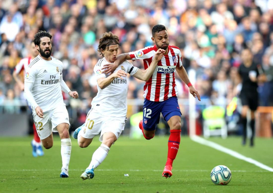 Реал - Атлетико: видео голов и обзор матча