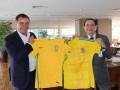 Сборная Украины может провести товарищеский матч с Бразилией
