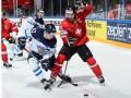 Швейцария - Финляндия 2:3 Видео шайб и обзор матча ЧМ по хоккею