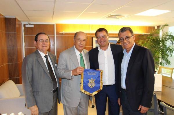 Андрей Павелко с визитом в Бразилии