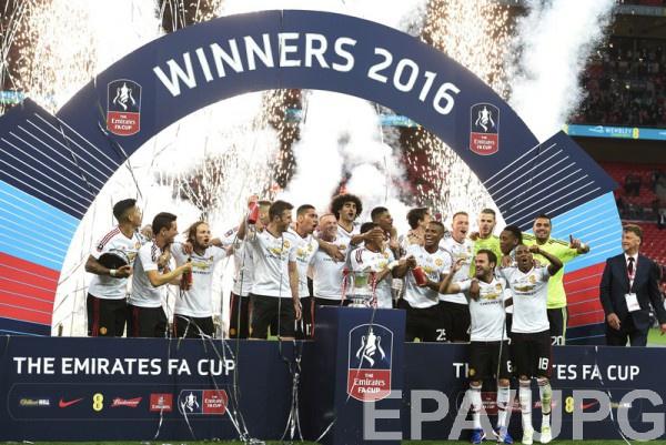 Манчестер Юнайтед - действующий победитель Кубка Англии