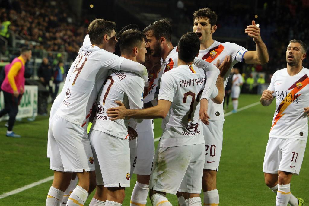 Футбол италиЯ кальЯри рома