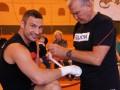 Первые шаги. Виталий Кличко начал подготовку к бою с Томашем Адамеком