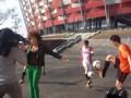 В Варшаве прошли сьемки клипа официальной песни Евро-2012