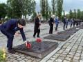 Делегация сборной Германии побывала в Освенциме