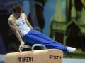 Олег Верняев занял 6-е место в упражнениях на коне