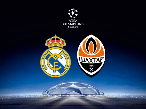 Реал М – Шахтер. Лига Чемпионов 2015-16. 1 тур