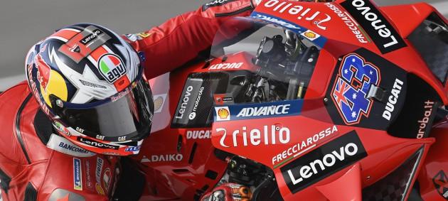 Миллер одержал вторую в карьере победу в MotoGP