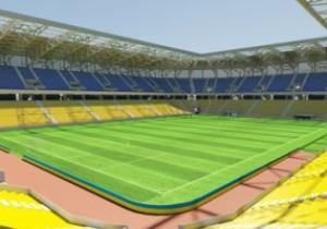 Сидения на львовском стадионе будут в национальных цветах