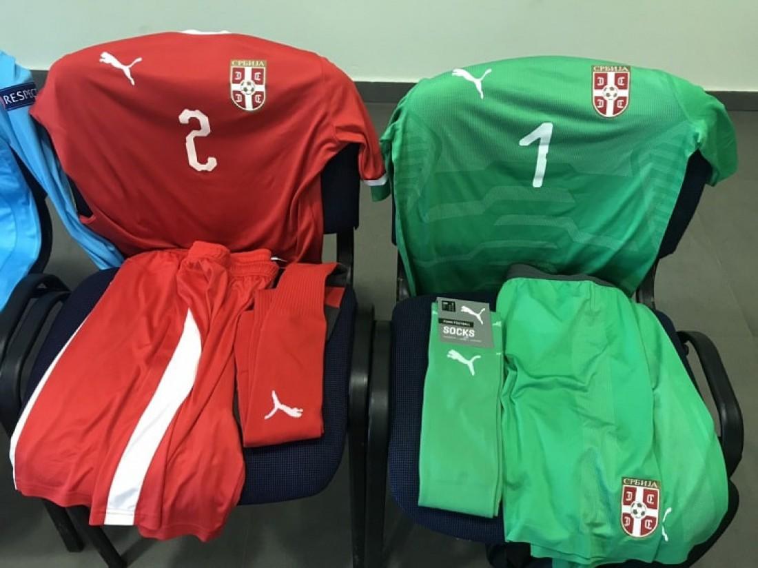 Форма, в которой сыграет сборная Сербии