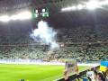 УЕФА финансово наказал Украину за нарушения на матче против сборной Сербии