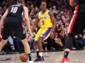 НБА: Лейкерс обыграли Портленд, Кливленд уступил Шарлотт