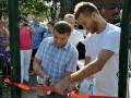 Ярмоленко подарил детскому дому футбольную площадку