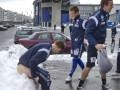 Норвежский тренер заставил футболистов сесть голыми в снег