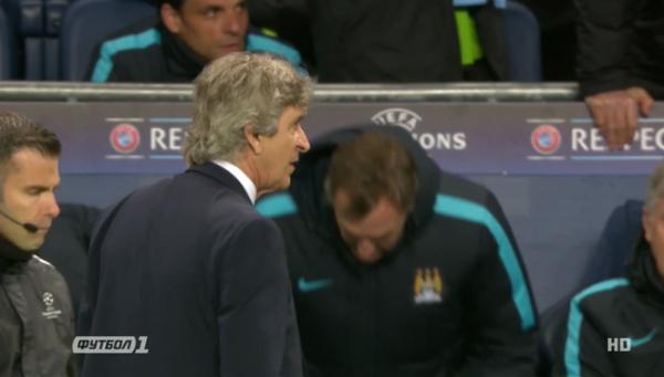 Видео гола в матче Манчестер Сити - ПСЖ