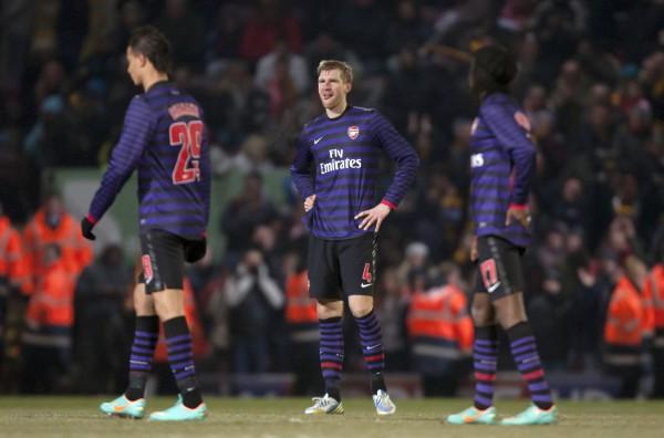 Арсенал проиграл в 1/4 Кубка английской лиги