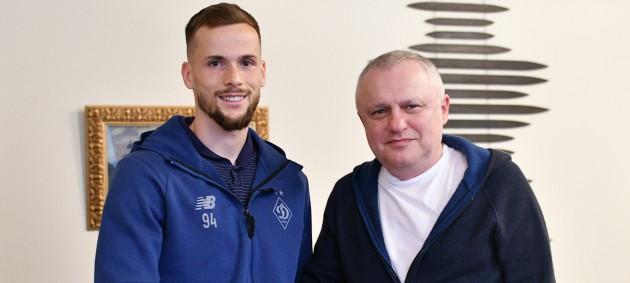 Динамо продлило контракт с Кендзерой