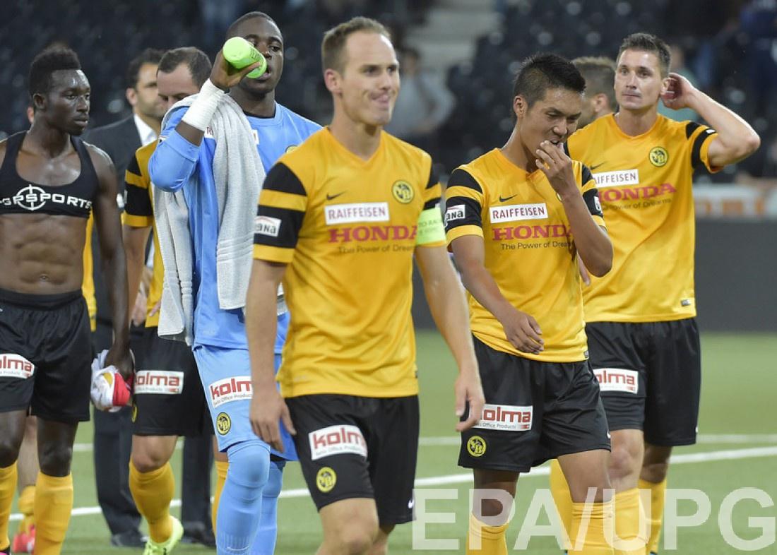 Футболисты швейцарского Янг Бойз
