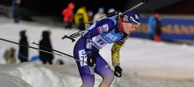 Украинка Дарья Блашко победила в женском спринте