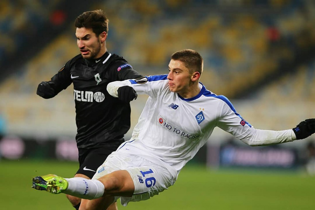 Динамо уступило Яблонцу в матче ЛЕ
