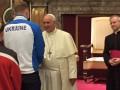 Говоров передал привет Папе Римскому от Украины