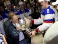 На глазах у Путина: Как сборная России чемпионом мира по хоккею стала